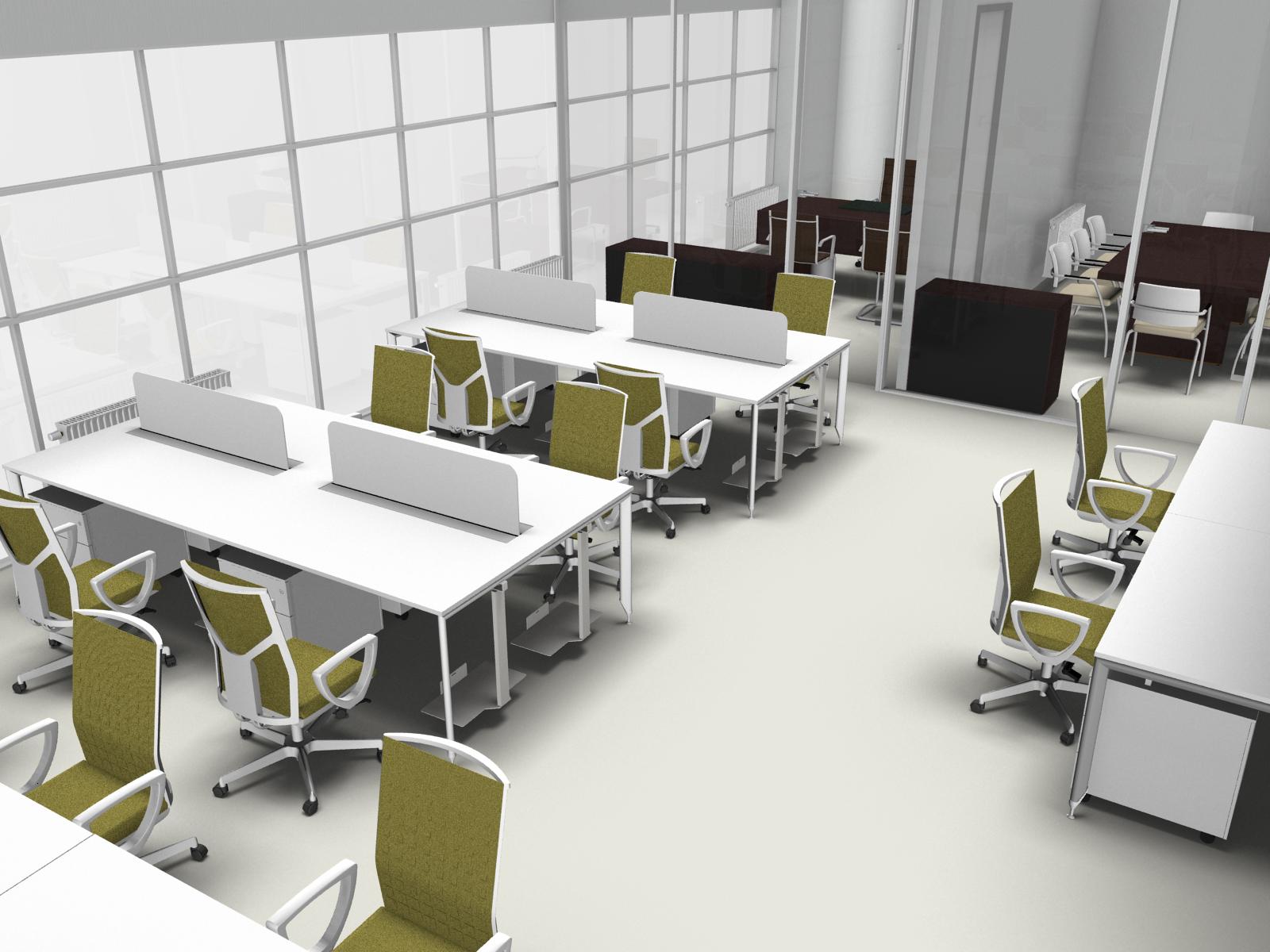 Elegant new office propone soluzioni duarredo ufficio a for Uffici arredati bologna